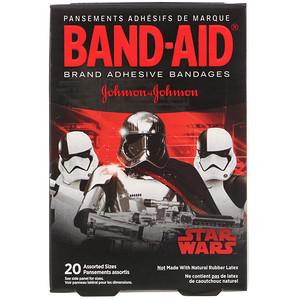 Бэнд Эйд, Adhesive Bandages, Star Wars, 20 Assorted Sizes отзывы покупателей