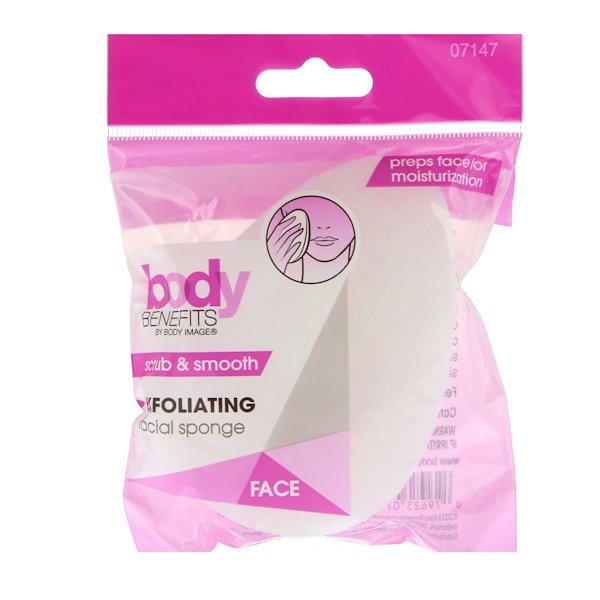 Body Benefits, By Body Image, Exfoliating Facial Sponge, 1 Sponge (Discontinued Item)