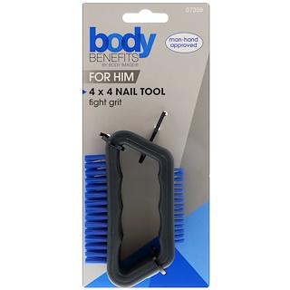 Body Benefits, By Body Image, Para Él, herramienta de 4x4 para uñas, 1 herramienta
