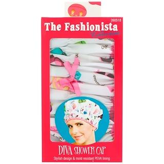 Betty Dain Creations, LLC, The Fashionista Collection, Diva Shower Cap, 1 Shower Cap
