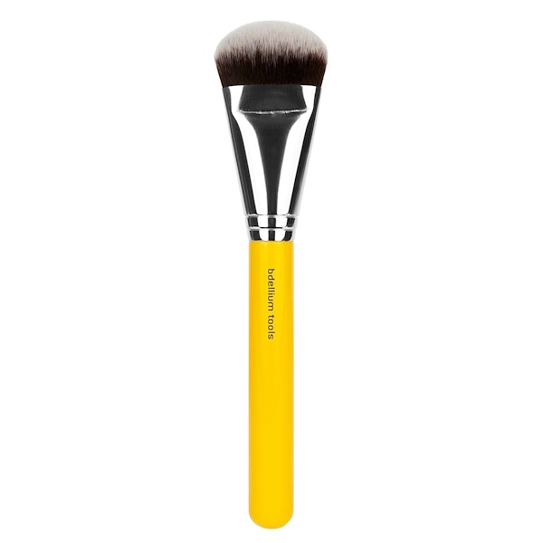 Bdellium Tools, Studio Line, Face 977, 1 Face Sculpting Brush (Discontinued Item)