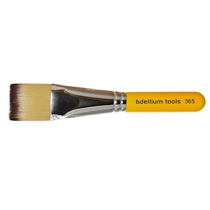 Bdellium Tools, Линия для путешествий, Спа 365, квадратная маска, 1 кисточка