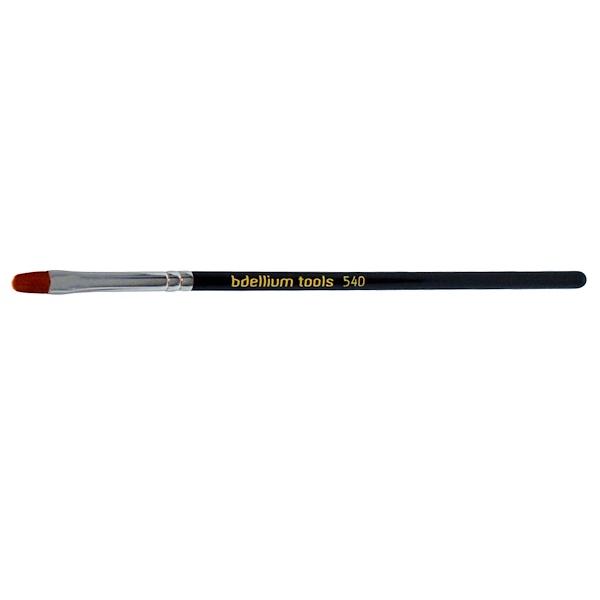 Bdellium Tools, Maestro Series, Lips 540, Precision Liner, 1 Brush (Discontinued Item)