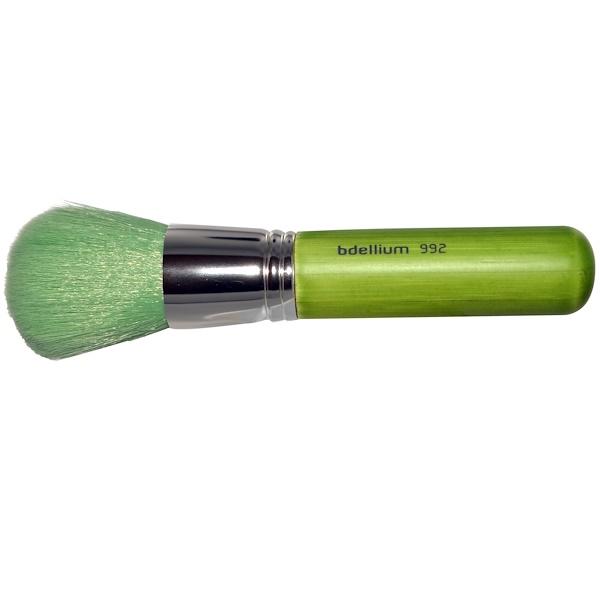 Bdellium Tools, Green Bambu Series, Face 992, Bronzer, 1 Brush (Discontinued Item)