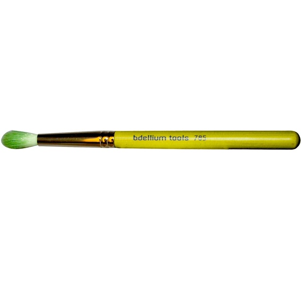 Bdellium Tools, Green Bambu Series, Eyes 785, Tapered Blending, 1 Brush