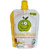 Buddy Fruits, Pure Blended Fruit to Go, Apple & Banana, 18 Pouches, 3.2 oz (90 g) Each (Discontinued Item)