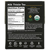 Buddha Teas, Organic Herbal Tea, Milk Thistle, 18 Tea Bags, 0.95 oz (27 g)