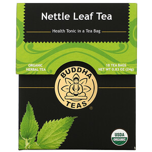 Buddha Teas, Organic Herbal Tea, Nettle Leaf, 18 Tea Bags, 0.83 oz (24 g)