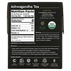 Buddha Teas, Organic Herbal Tea, Ashwagandha, 18 Tea Bags,1.27 oz (36 g)