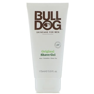 Bulldog Skincare For Men, Original Shave Gel, 5.9 fl oz (175 ml)