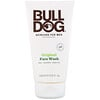 Bulldog Skincare For Men, Gel limpiador original, 5 fl. Oz (150 ml)