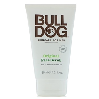 Bulldog Skincare For Men, Original Face Scrub, 4.2 fl oz (125 ml)