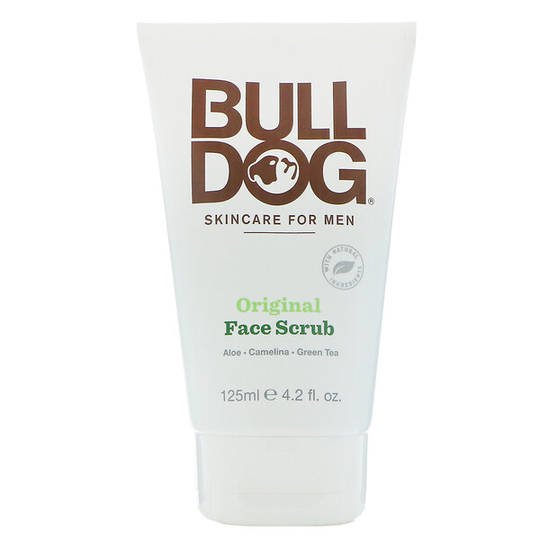 Bulldog Skincare For Men, Original Face Scrub, 4.2 fl oz (125 ml) (Discontinued Item)