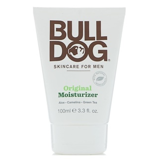 Bulldog Skincare For Men, Humectante original, 3.3 fl. Oz (100 ml)
