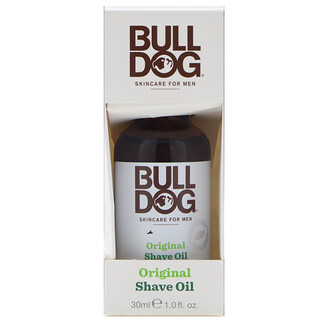 Bulldog Skincare For Men, Original Shave Oil, 1 fl oz (30 ml)