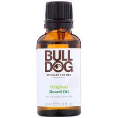 Bulldog Skincare For Men, 原裝鬍鬚油,1液量盎司(30毫升)