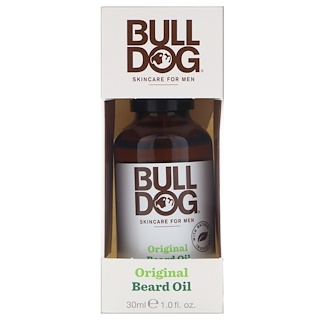 Bulldog Skincare For Men, Original Beard Oil, 1 fl oz (30 ml)