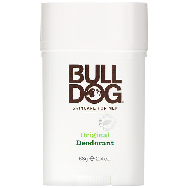 Bulldog Skincare For Men, Desodorante original, 2.4 oz (68 g)