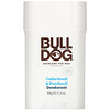 Bulldog Skincare For Men, Desodorante de cedro y pachuli, 2.4 oz (68 g)