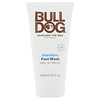 Bulldog Skincare For Men, Face Wash, Sensitive, 5 fl oz (150 ml)