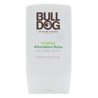 Bulldog Skincare For Men, Original Aftershave Balm, 3.3 fl oz (100 ml)