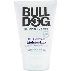 Bulldog Skincare For Men, 控油保濕霜,3.3 液量盎司(100 毫升)