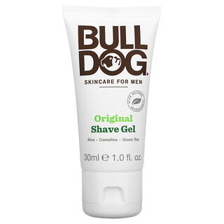 Bulldog Skincare For Men, Original Shave Gel, 1.0 fl oz (30 ml)