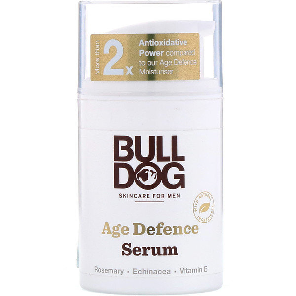 Bulldog Skincare For Men, Age Defence Serum, 1.6 fl oz (50 ml)