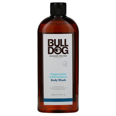 Купить Bulldog Skincare For Men Body Wash, Peppermint & Eucalyptus, 16.9 fl oz (500 ml)
