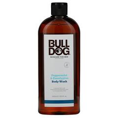 Bulldog Skincare For Men, 沐浴露,薄荷和桉樹,16.9 盎司(500 毫升)