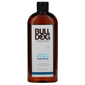 Булдог Скинкер фо Мэн, Body Wash, Peppermint & Eucalyptus, 16.9 fl oz (500 ml) отзывы