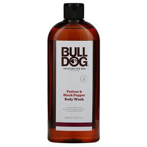 Булдог Скинкер фо Мэн, Body Wash, Vetiver & Black Pepper, 16.9 fl oz (500 ml) отзывы покупателей