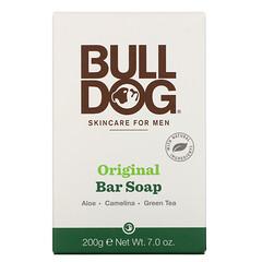 Bulldog Skincare For Men, 原味肥皂,7.0 盎司(200 克)