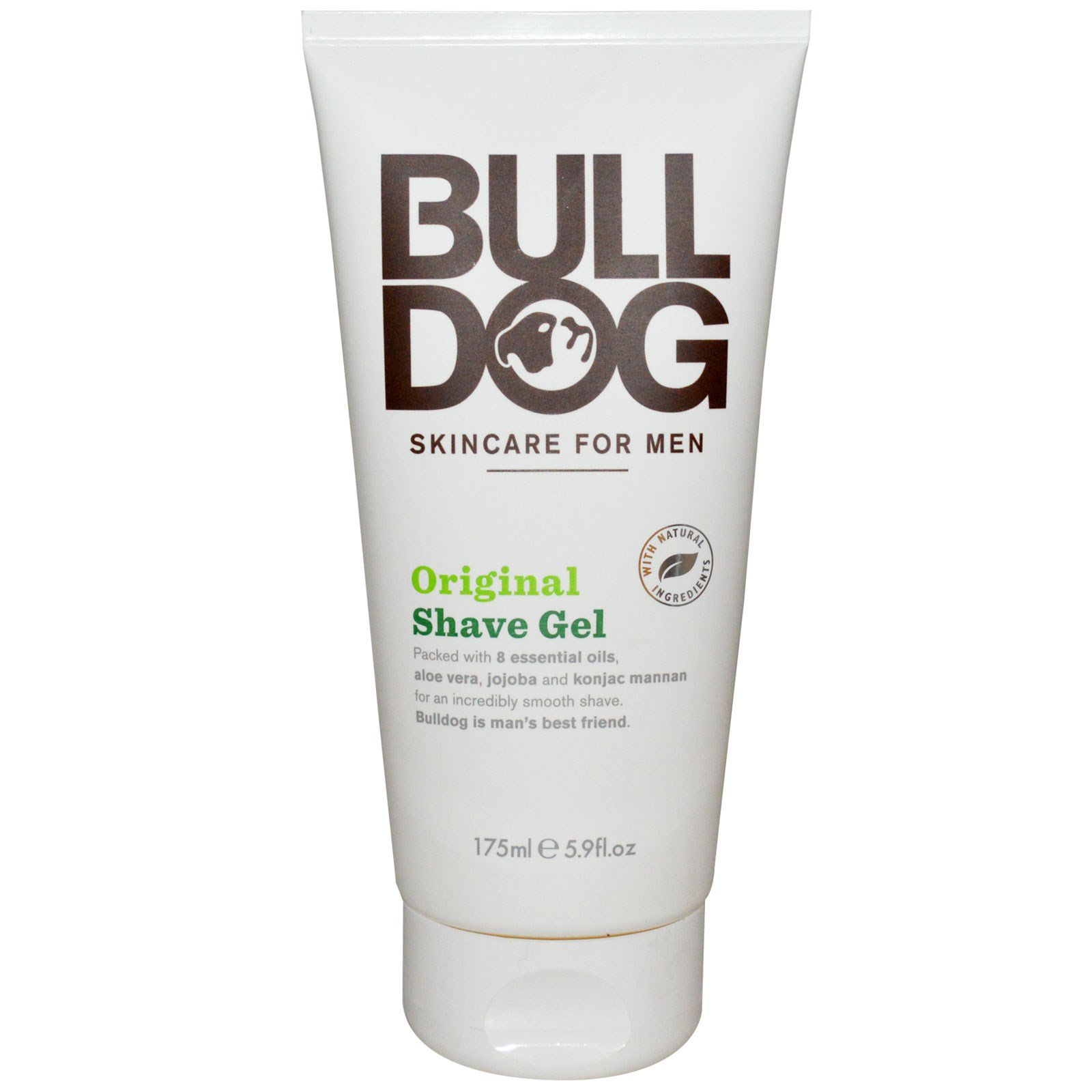 Brand New skincare For Men Shave Gel/ Aftershave Balm Bundle Bulldog