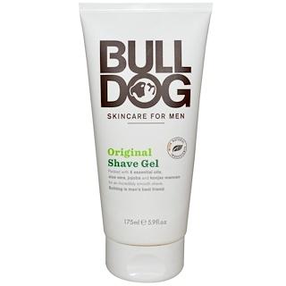 Bulldog Skincare For Men, Shave Gel, Original, 5.9 fl oz (175 ml)