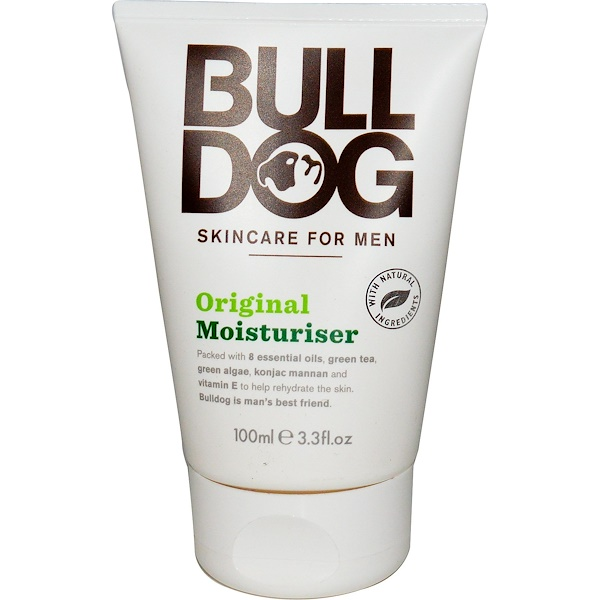 Bulldog Skincare For Men, Moisturizer, Original, 3.3 fl oz (100 ml) (Discontinued Item)