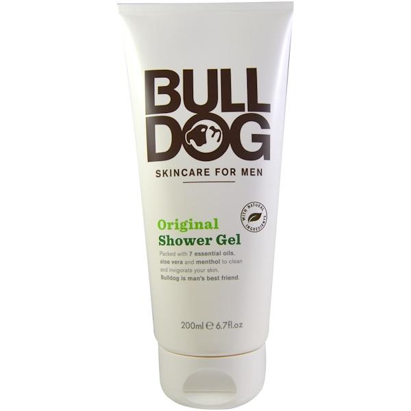 Bulldog Skincare For Men, Гель для душа, оригинальный, 6,7 жидкой унции (200 мл) (Discontinued Item)