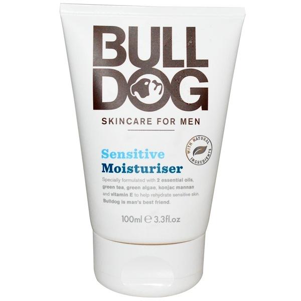 Bulldog Skincare For Men, Чувствительный увлажнитель, 100 мл (3,3 жидких унций) (Discontinued Item)