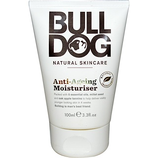 Bulldog Skincare For Men, Anti-Ageing Moisturiser, 3.3 fl oz (100 ml)