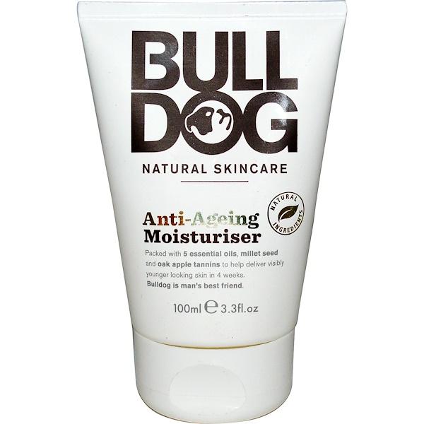 Bulldog Skincare For Men, アンチエイジング・モイスチャライザー3液量オンス (100 ml) (Discontinued Item)