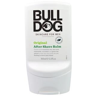 Bulldog Skincare For Men, After Shave Balm, Original, 3.3 fl oz (100 ml)