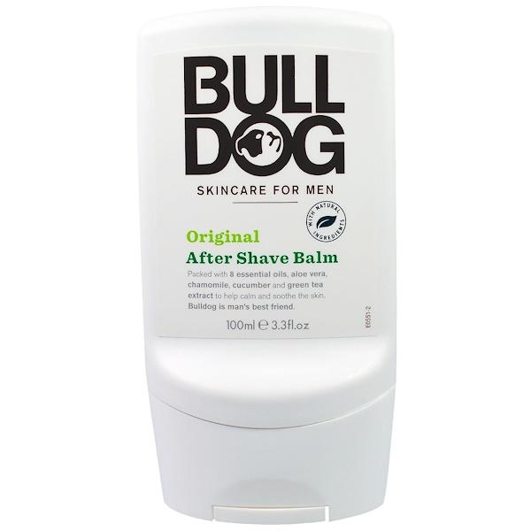 Bulldog Skincare For Men, After Shave Balm, Original, 3.3 fl oz (100 ml) (Discontinued Item)
