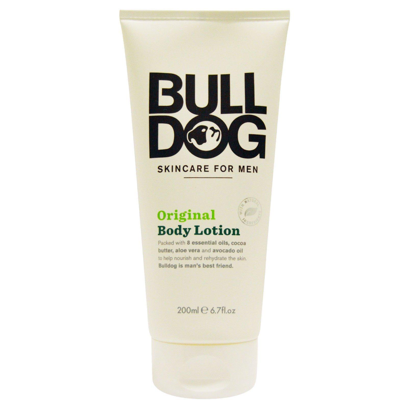 Bulldog Skincare For Men, Лосьон для тела Original, 6.7 жидких унций (200 мл)