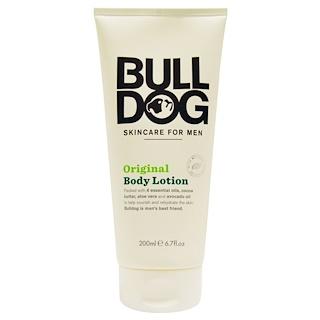 Bulldog Skincare For Men, Original Body Lotion, 6.7 fl oz (200 ml)