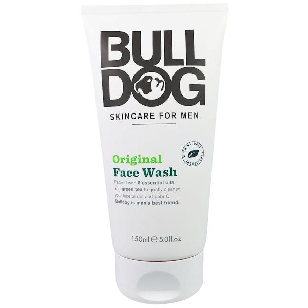 Bulldog Skincare For Men, Original Face Wash, 5.0 fl oz (150 ml) (Discontinued Item)