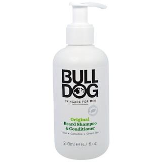 Bulldog Skincare For Men, Original Beard Shampoo & Conditioner, 6.7 fl oz (200 ml)