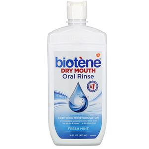 Биотин Дэндал Продактс, Dry Mouth Oral Rinse, Fresh Mint, 16 fl oz (473 ml) отзывы