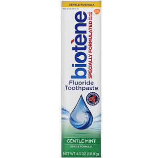 Biotene Dental Products, Dentifrice au fluor, Formule douce, Menthe douce, 121,9g