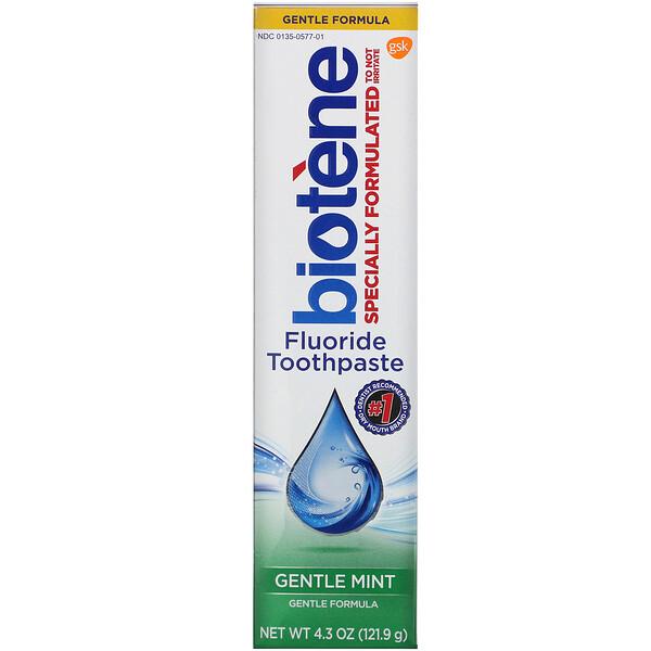 Gentle Formula Fluoride Toothpaste, Gentle Mint, 4.3 oz (121.9 g)