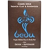 One with Nature, Triple Milled Face & Body Bar, Camel Milk French Clay & Rosewood, 4 oz (113 g)
